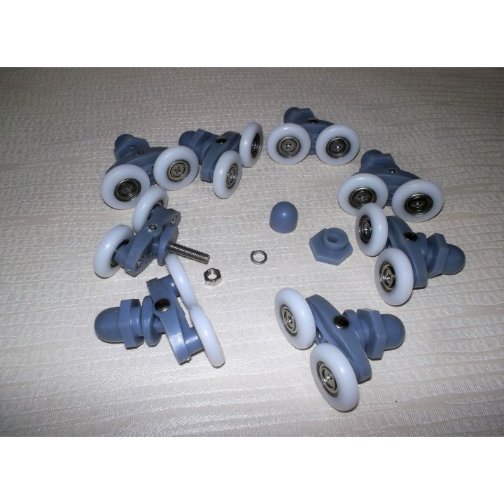 Комплект колес для душ кабин двойных ( В-27) -25мм